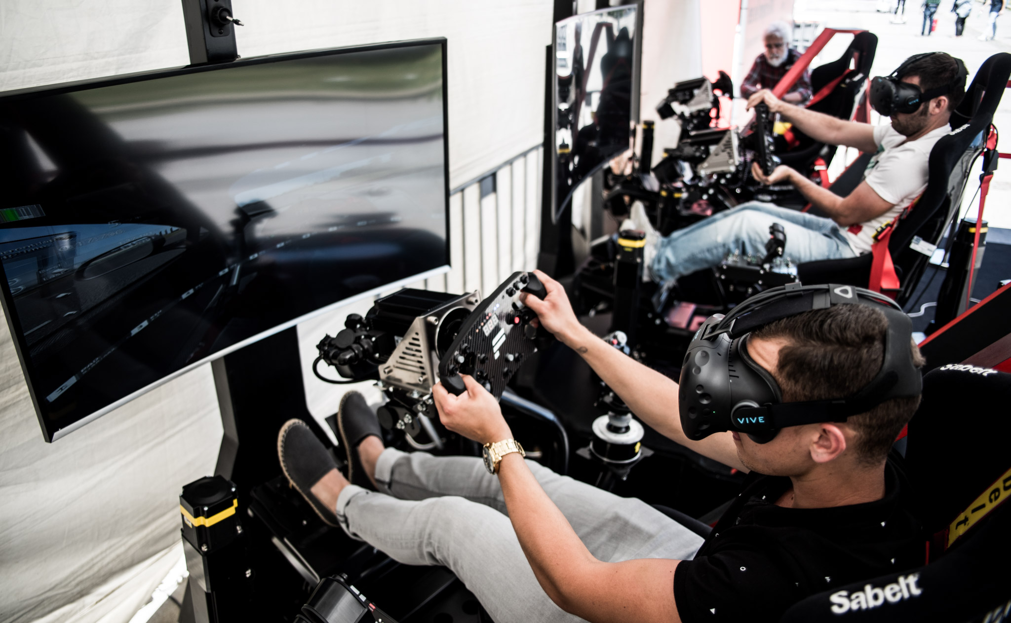 The 3-in-1 VR Motion Simulator