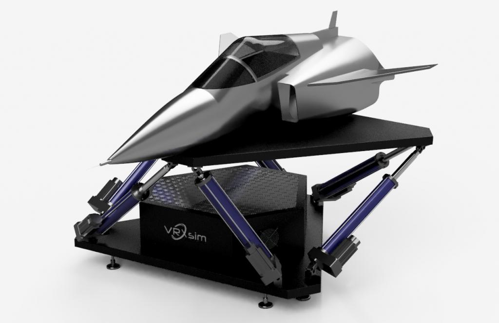 Introducing the VRXsim® 6DOF Full Motion Platform – VRXsim